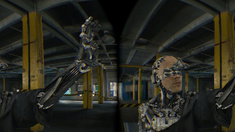 I Lived Through a Robot Insurrection in Virtual Reality Motherboard