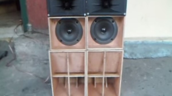This Adorable, Two-Foot DIY Sound System Will Melt Your Ears (and Your Heart)