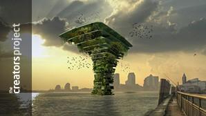 De Sea Tree is een stap naar de drijvende toekomst van de natuur in de stad