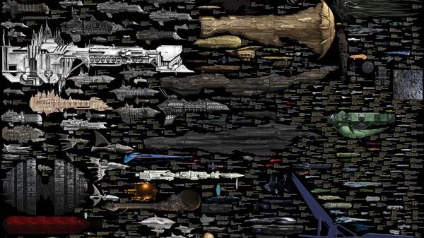 De vergelijkingskaart van alle sci-fi ruimteschepen is eindelijk af