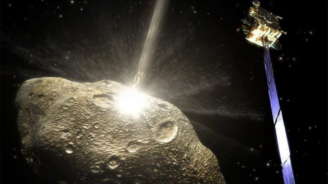 To Divert an Asteroid, ESA and NASA Plan on Smashing It with a Satellite