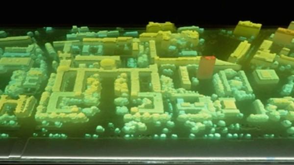Een 3D-geprinte MIT campus om big data inzichtelijk te maken