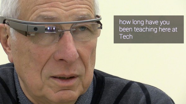Google Glass Can Now Add Closed Captioning to the World as It Happens