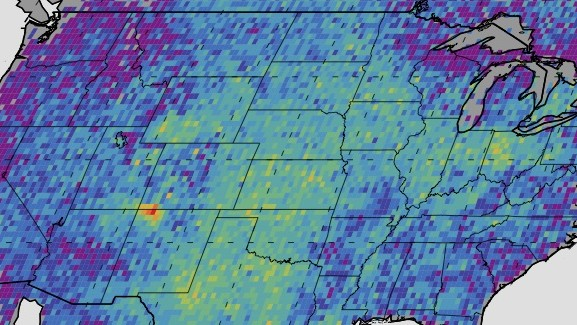 There's a Methane 'Hot Spot' the Size of Delaware in the American Southwest