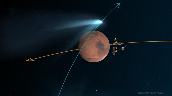 Why NASA Has 13 Spacecraft Watching a Single Comet This Weekend
