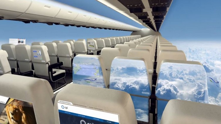 The Plane of the Future Has No Windows