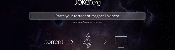 Torrents downloaden is zooo 2013, vooral nu Joker.org er is