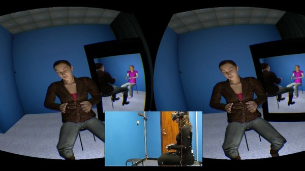 In Virtual Reality, You Can Comfort a Crying Child, Then Become That Child