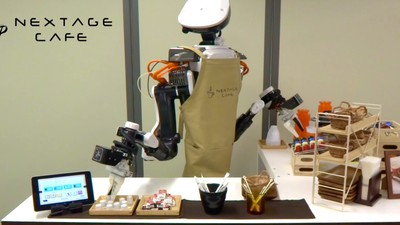 This Robot Barista Is Strangely Mesmerizing