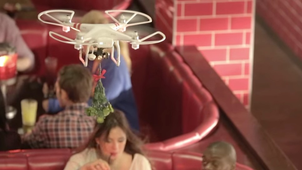 TGI Fridays Already Crashed Its Drone Into Someone's Face