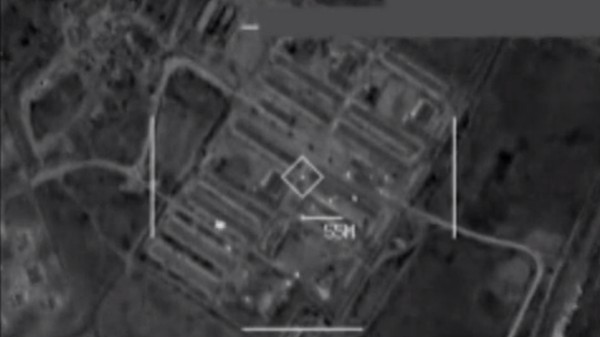 Watch the US Military Bomb an ISIS 'Electronic Warfare' Bunker
