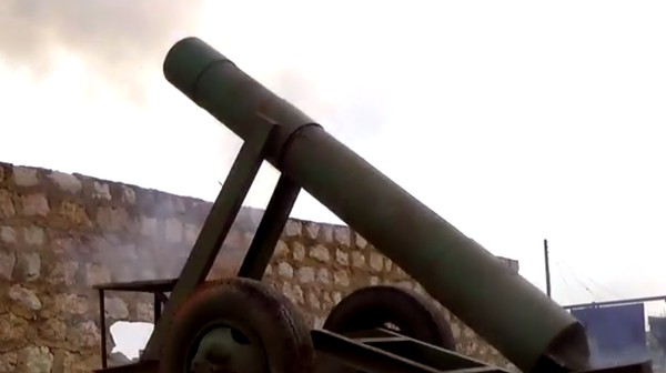 The DIY Cannons Used by Syrian Rebels Are Getting Sophisticated