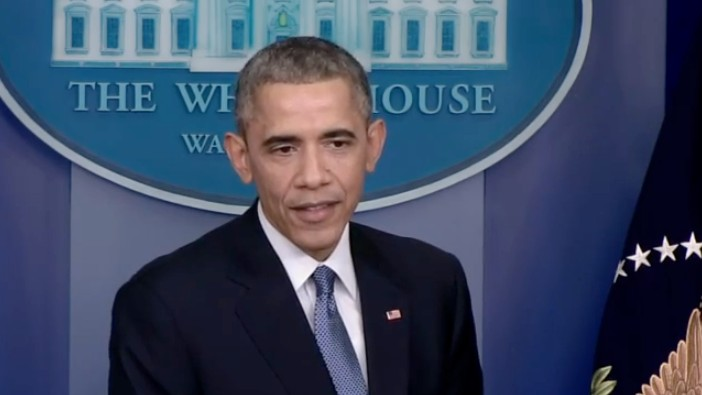 Obama Scolds Sony for Cowing to Hackers: 'That's Not What America Is About'