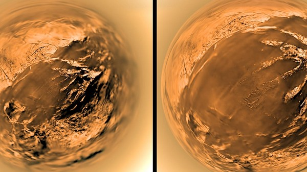 Landing on Titan: A Slow-Motion Close-Up