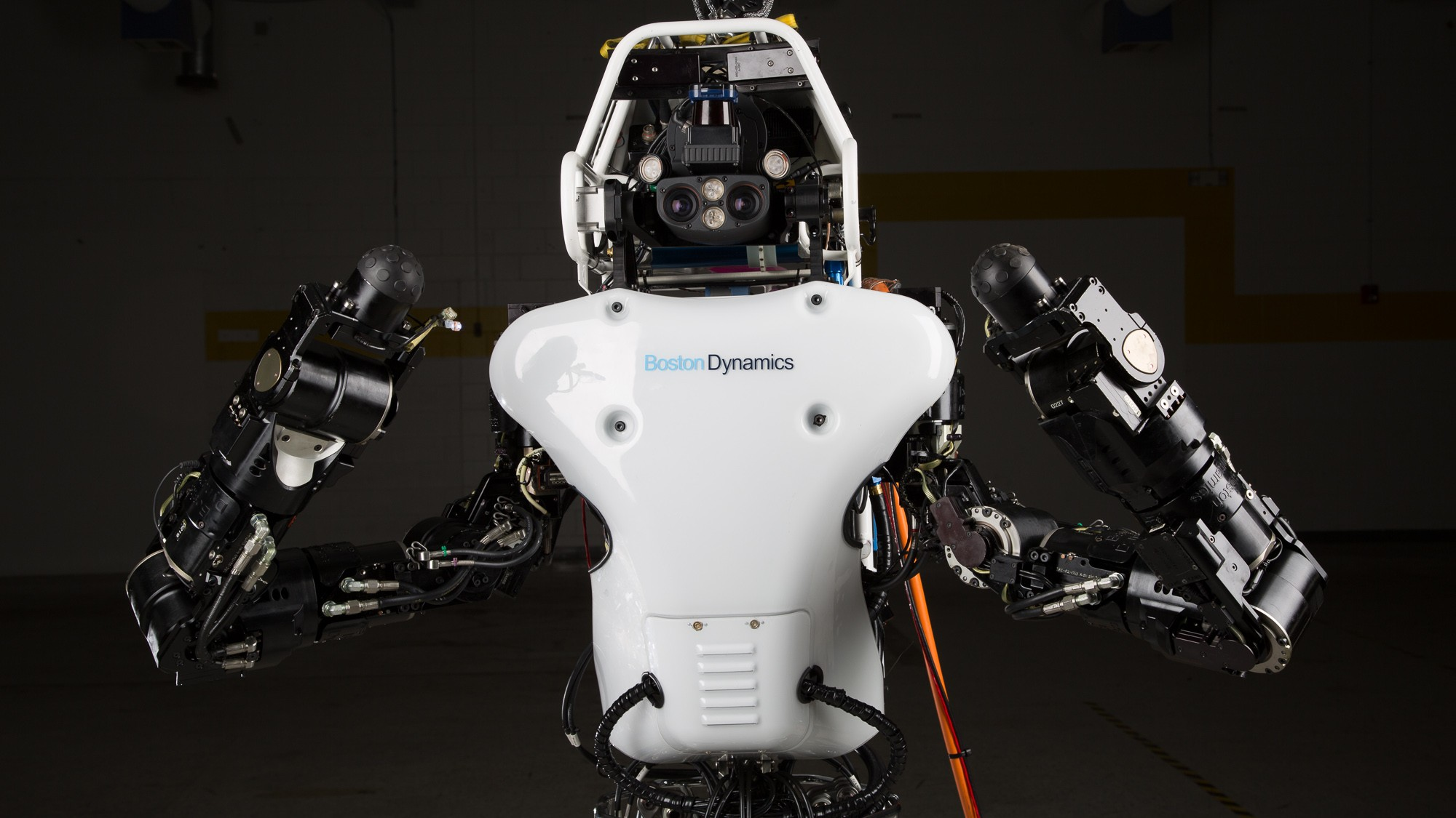 Google's Hydraulic Humanoid Robot Just Got Stronger, Quieter, and More Mobile