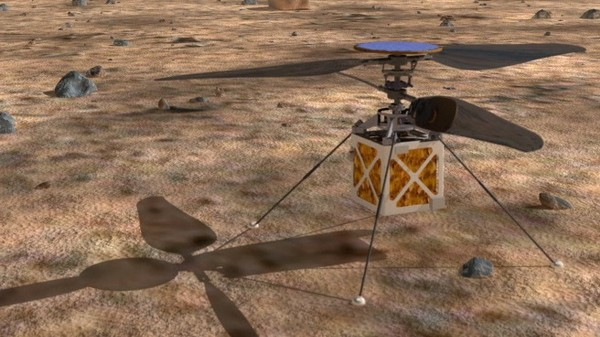NASA Wants to Send a Helicopter to Mars