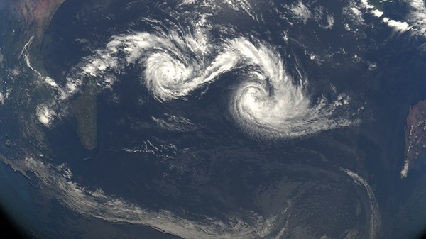 What Happens When Cyclones Collide?