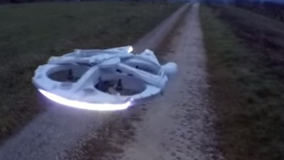 Someone Made a Working Millennium Falcon Drone