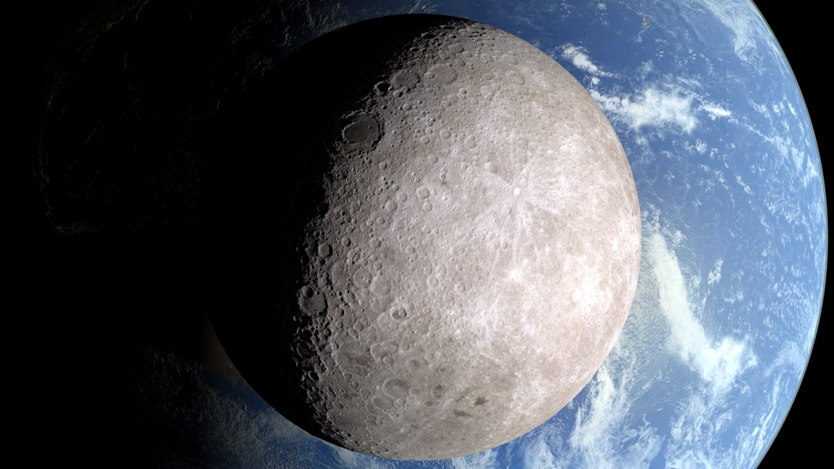This Lunar Time Machine Shows the Far Side of the Moon in Eye-Opening Detail
