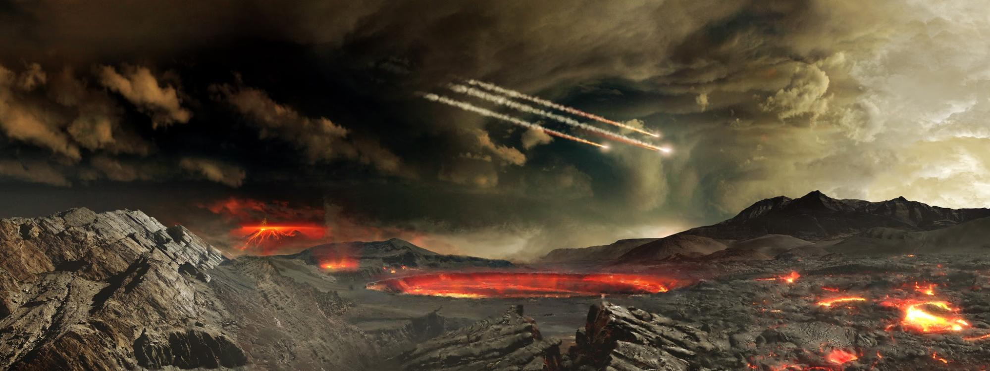 How Did Earth's Earliest Terraformers Survive? They Hid Under Rocks