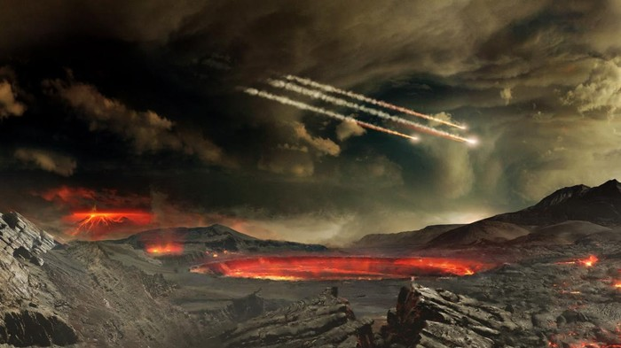 How Did Earth S Earliest Terraformers Survive They Hid