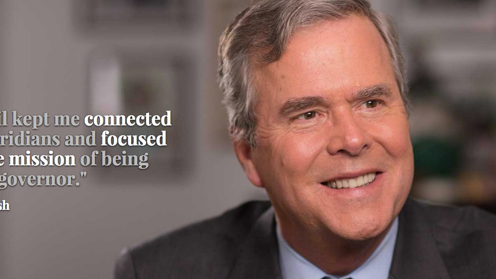 I Spent a Day Opening Jeb Bush's Email