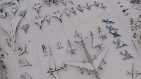 Drone Footage of the Russian Air Force Boneyard Will Make Any Plane Geek Freak