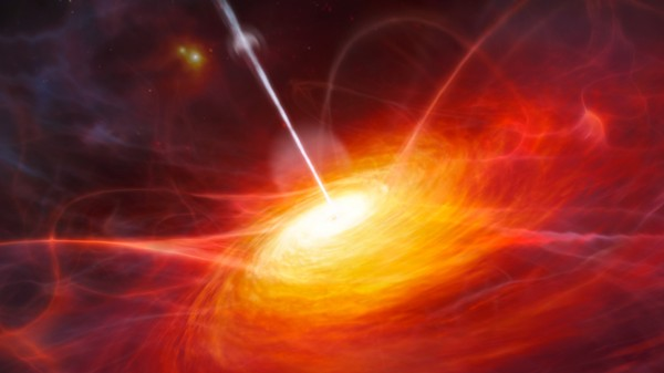 This Enormous, Ancient Black Hole Defies the Laws of Physics