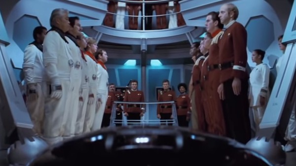 Mr. Spock's Funeral in 'Wrath of Khan'