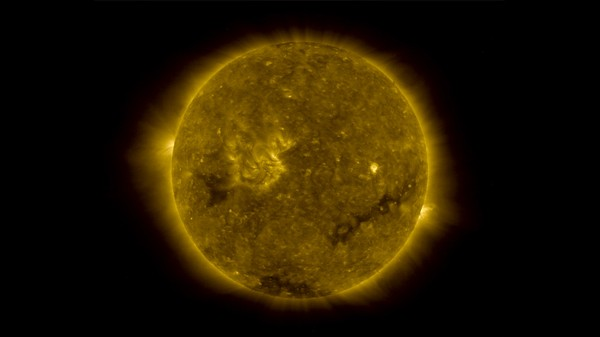 Does the Sun Have a Heart of Dark Matter?