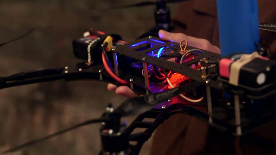 The World's First Drone Dogfight