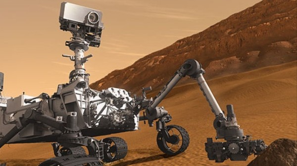 Short Circuit Puts the Curiosity Rover's Fate in Question