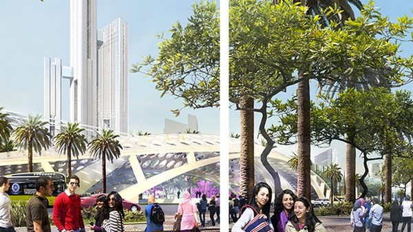 Egypt's Silicon Valley-Inspired Plan to Build a Utopian Capital to Replace Cairo