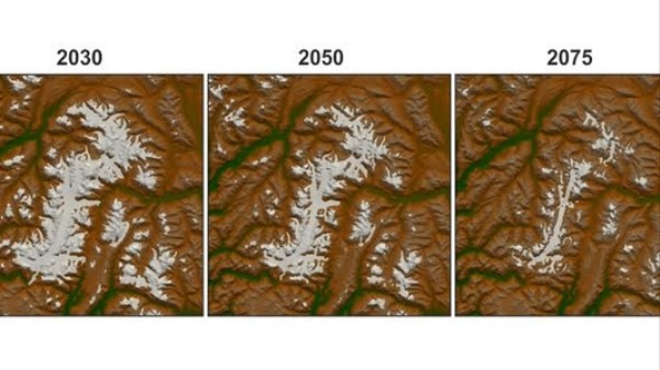 Two-Thirds of Canada's Glaciers Will Disappear by 2100, Study Finds