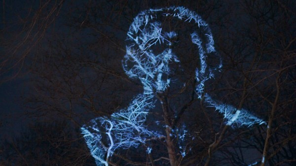 The Illegal Edward Snowden Statue Lived on As a Digital Projection