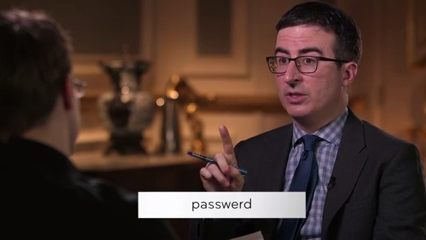 John Oliver Gets Password Advice from Edward Snowden