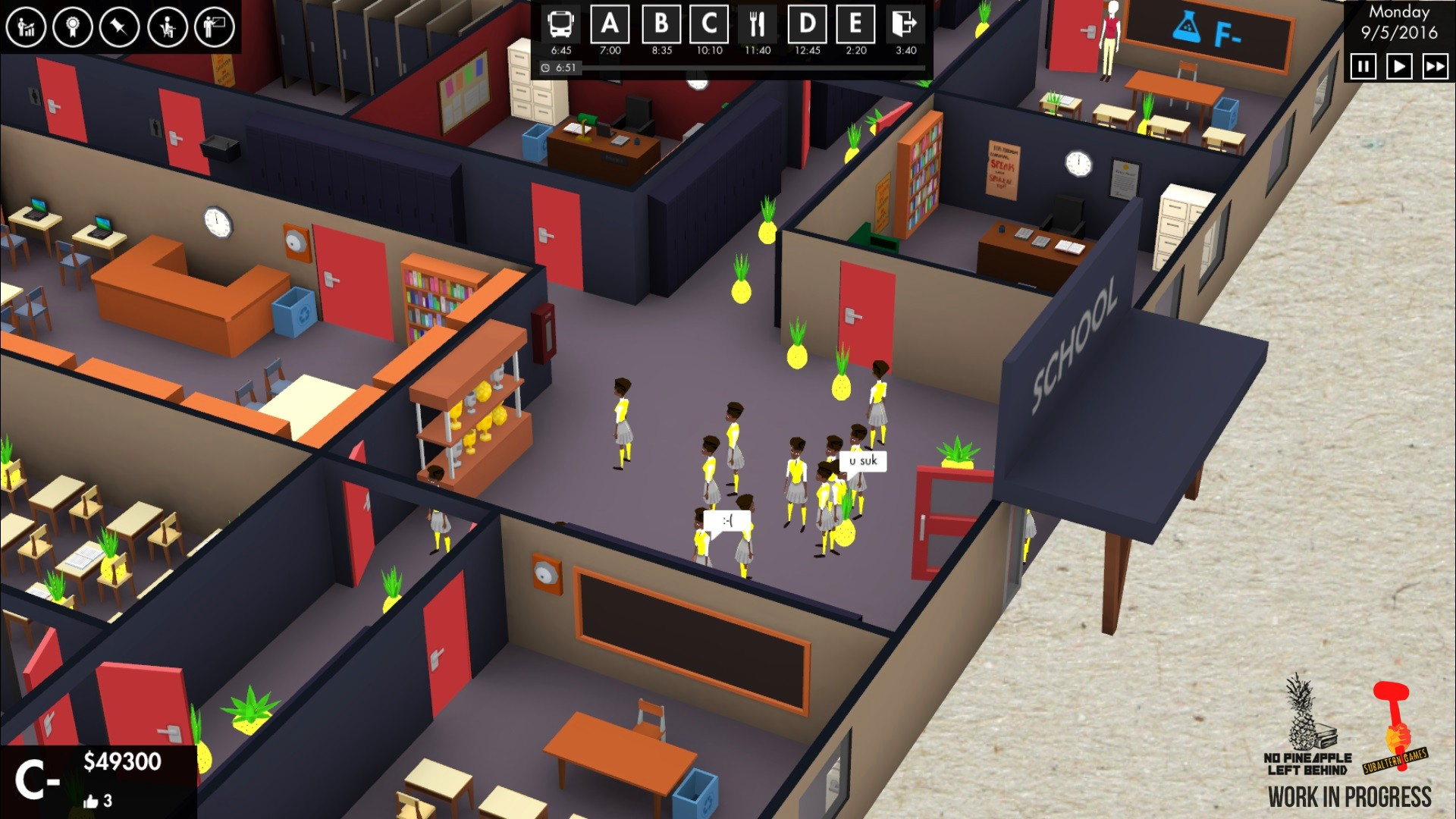 An Ex-Teacher Made a Video Game that Skewers the No Child Left Behind Act