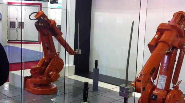 There's a Whole Lot of Sword-Fighting Robots Out There