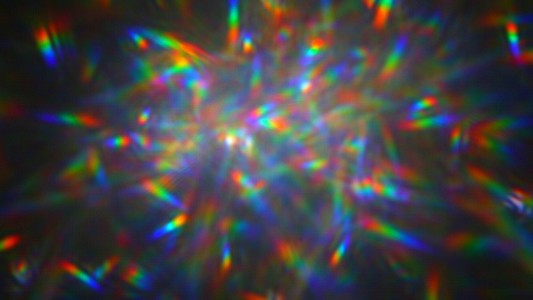 Rainbow Cloud of Space Glitter and Lasers Could Image Alien Worlds