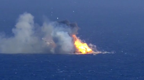 Here's SpaceX's Rocket Exploding Into a Million Pieces