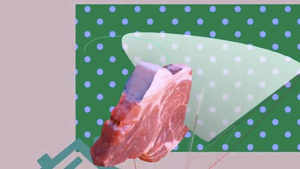 This Music Video of Food and 3D Shapes is Trippy AF