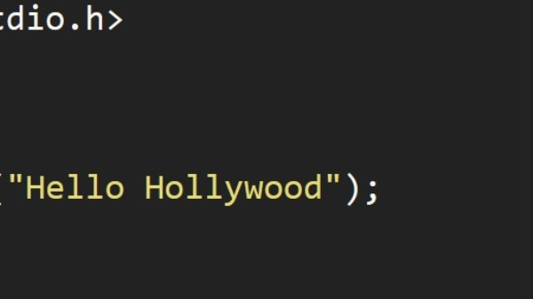What's the Most 'Cinematic' Programming Language?