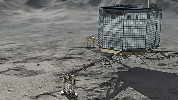 The Philae Comet Lander Just Woke Up After Seven Months
