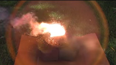 Thermite vs. Hockey Puck: Which Would You Bet On?