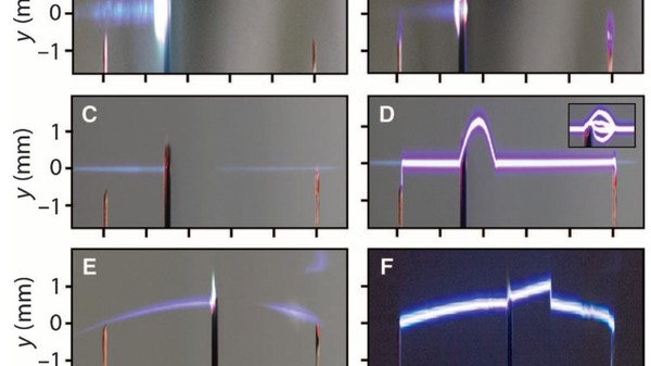 Scientists Used Lasers to Curve Electricity Around Solid Objects