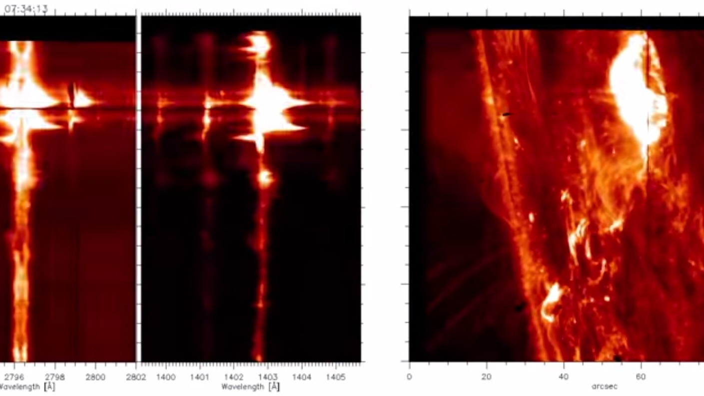 Watch a Solar Flare Erupting in Unprecedented Detail