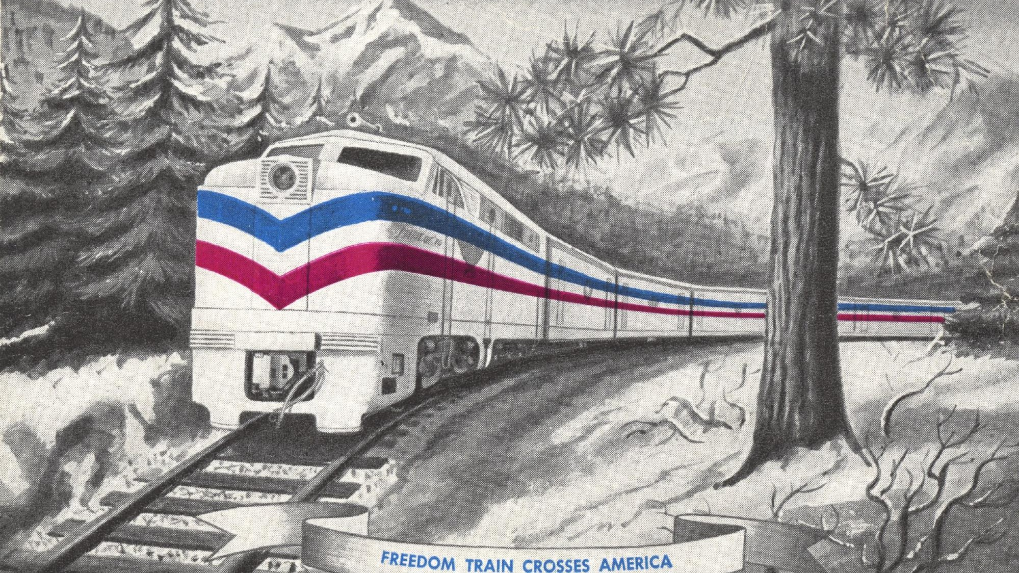 Take a Ride Through the History of America's Freedom Train with Google