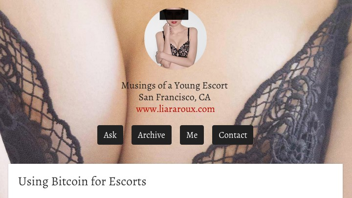The Sex Workers' Guide to Bitcoin