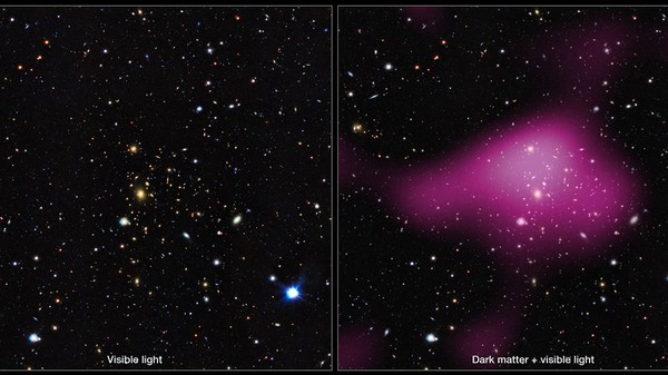 Galaxies Form Inside of Dark Matter 'Clumps,' New Study Shows