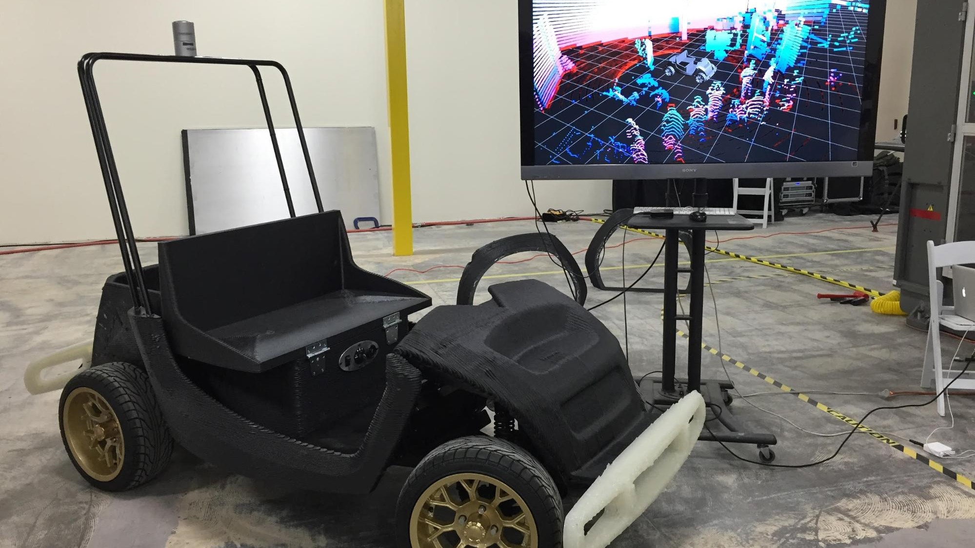 Researchers Are Testing Electric, 3D-Printed, Uber-Like, Self-Driving SmartCarts